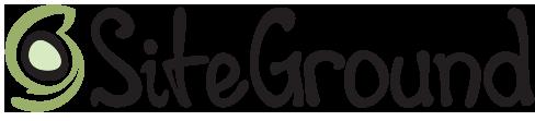 SITEGROUND logo Black
