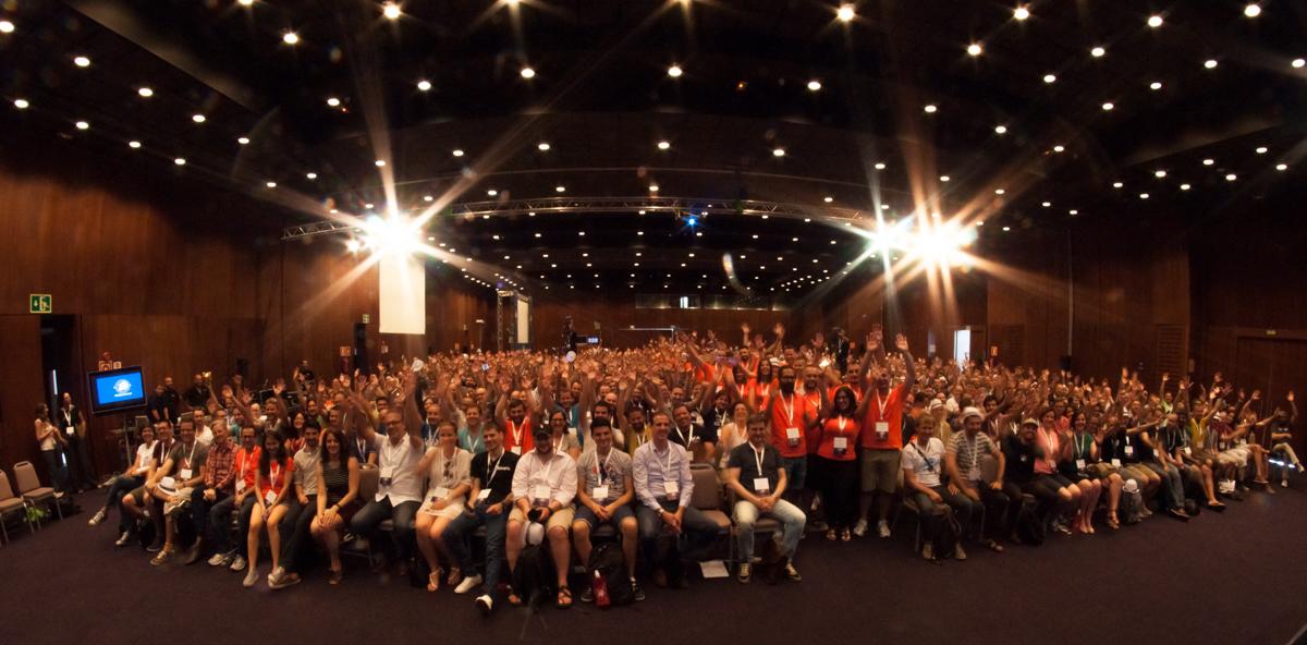 WordCamp Europe 2015 attendees
