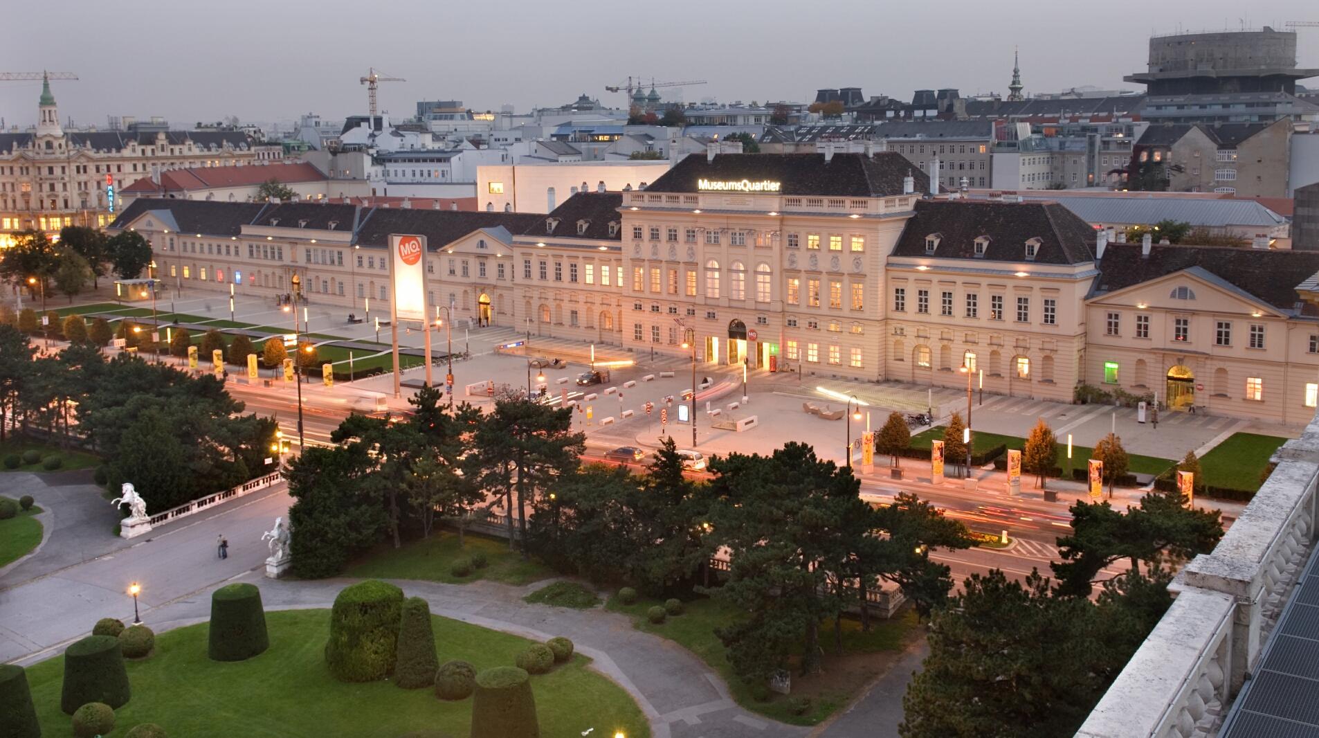 MuseumsQuartier Wien (c) Ali Schafler