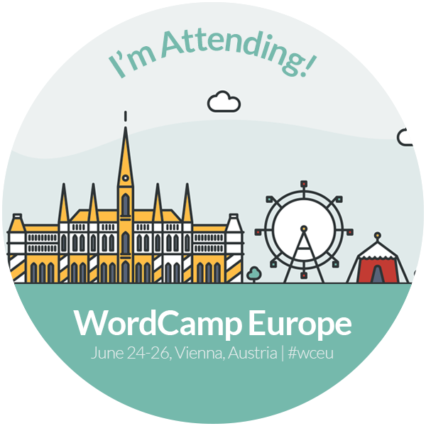 WordCamp Europe 2016 Attendee Badge