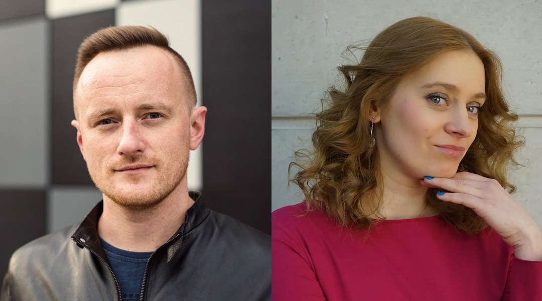 Marcin Wolak and Katarzyna Gajewska are WordCamp organizers from the Polish community