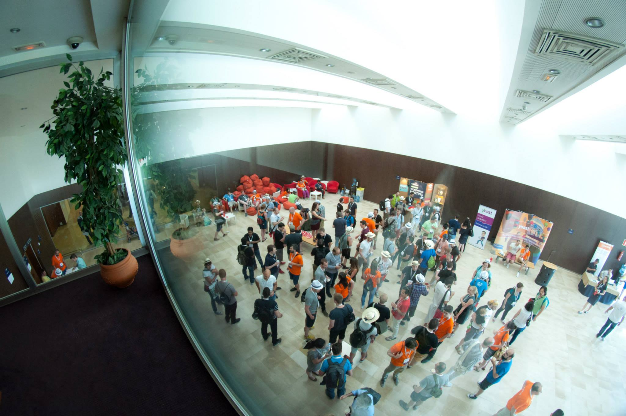 Speed networking at WordCamp Europe 2015