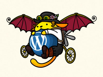 Steampunk Wapuu – WordCamp London Mascot