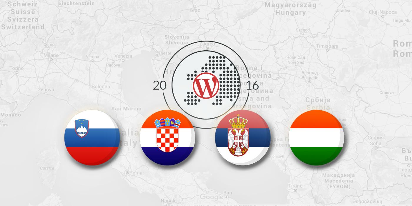 Slovenia, Croatia, Serbia, Hungary