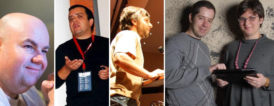 From left to right: José Freitas, Pedro Fonseca, Marco Pereirinha, Nuno Morgadinho and Ana Aires