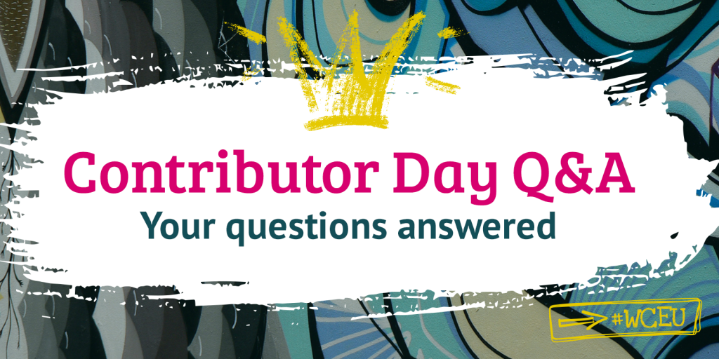Q&A about Contributor Day – WordCamp Europe 2019